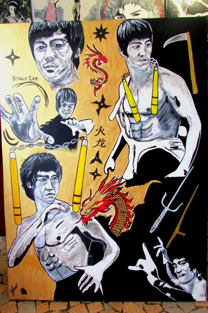 Bruce Lee by JUD